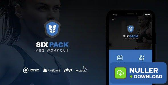 SixPack v2.0 - Complete Ionic 5 Fitness App + Backend