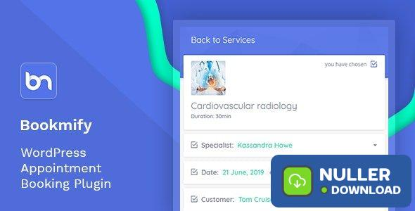 Bookmify v1.4.0 - Appointment Booking WordPress Plugin