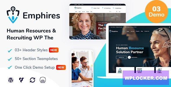 Emphires v1.3 - Human Resources & Recruiting Theme