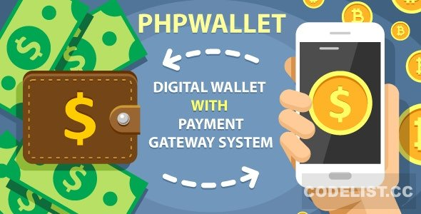 phpWallet v3.4 - e-wallet and online payment gateway system