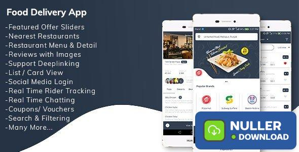 Restaurant Food Delivery App with Delivery Boy v1.0