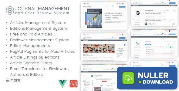 Journal Management and Peer Review System v1.1