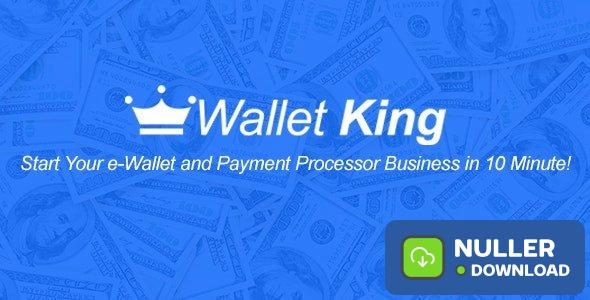 Wallet King v1.0 - Online Payment Gateway with API