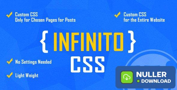 INFINITO v1.2 - Custom CSS for Chosen Pages and Posts