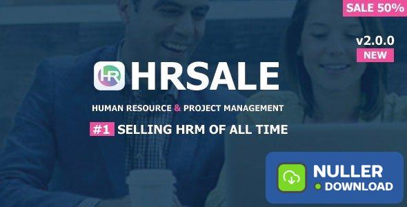 HRSALE v2.0.0 - The Ultimate HRM