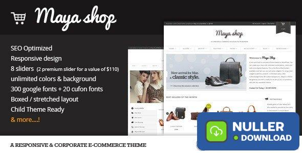 MayaShop v3.7.7 - A Flexible Responsive e-Commerce Theme