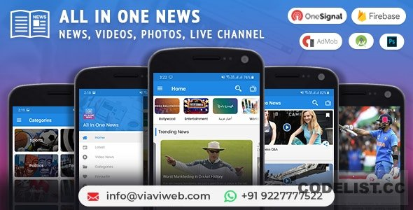 All In One News (News, Videos, Photos, Live Channel) 21 Oct. 2019