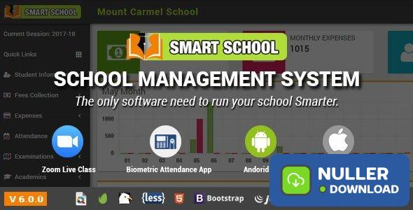 Smart School v6.0.0 - School Management System