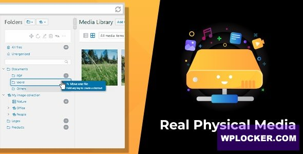 WordPress Real Physical Media v1.2.0 - Physical Media Folders & SEO Rewrites