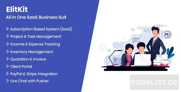 ElitKit v1.0 - All In One SaaS Business Suit