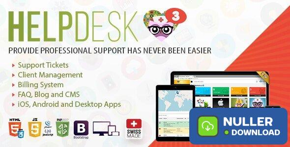 HelpDesk v3.5 - The professional Support Solution - nulled
