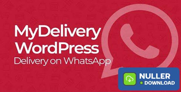 MyDelivery WordPress v1.5.4 - Delivery on WhatsApp