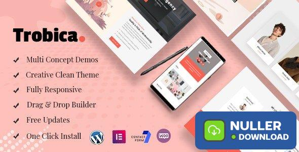 Trobica v1.0.4 - Multi Purpose WordPress Theme
