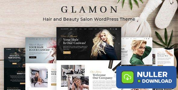 Glamon v1.0.1 - Salon & Barber Shop Theme