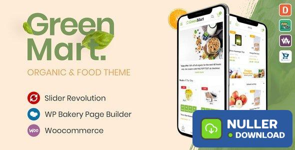 GreenMart v2.4.3 - Organic & Food WooCommerce WordPress Theme