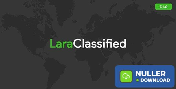 LaraClassified v7.1.1 - Classified Ads Web Application - nulled