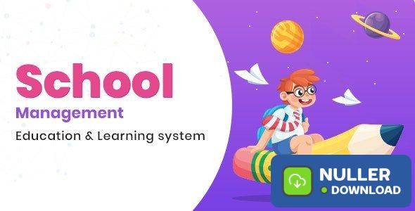 School Management v6.1 - Education & Learning Management system for WordPress