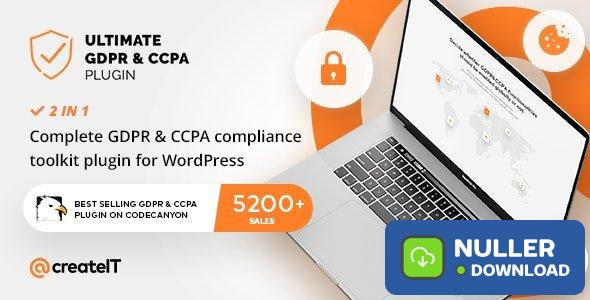 Ultimate GDPR v2.1 - Compliance Toolkit for WordPress