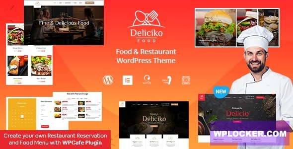 Deliciko v1.9 - Restaurant WordPress Theme