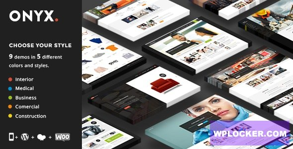 Onyx v3.2 - Multi-Concept Business Theme