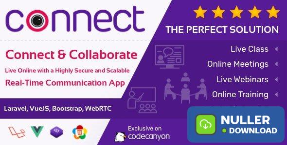 Connect v1.0 - Live Class, Meeting, Webinar, Online Training & Web Conference