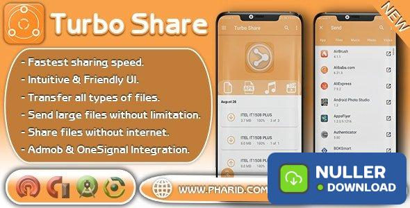 Turbo Share v1.6 - ShareIt Clone | Ultimate Transfer & Share