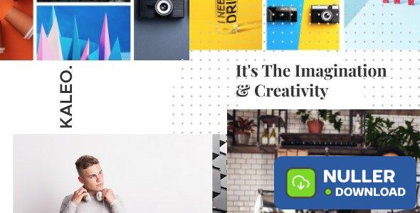 Kaleo v1.2.47 - Creative Portfolio WordPress Theme