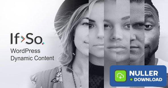 If>So v1.5.0.1 - Dynamic Content (WordPress Plugin)
