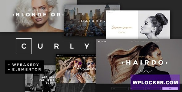Curly v2.0 - A Stylish Theme for Hairdressers and Hair Salons