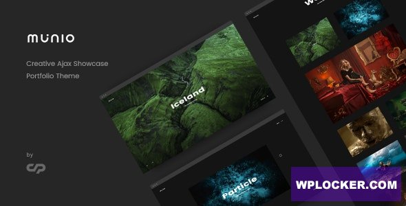 Munio v1.3 - Creative Portfolio Theme