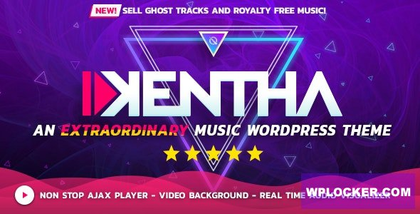 Kentha v2.2.6 - Non-Stop Music WordPress Theme with Ajax