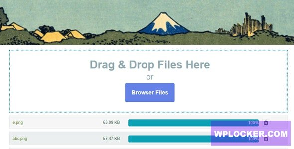 Contact Form 7 Drag and Drop FIles Upload v3.2 - Multiple Files Upload