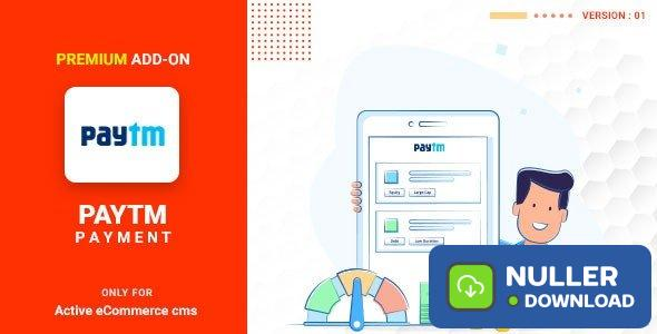 Active eCommerce Paytm add-on v1.0