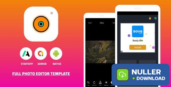 Photo Editor Android App Source Code v1.0