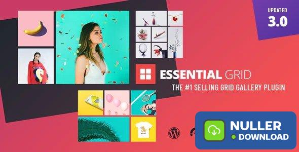 Essential Grid WordPress Plugin v3.0.3