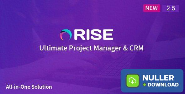 RISE v2.5 - Ultimate Project Manager - nulled