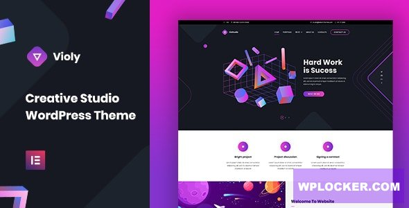 Violy v1.0.0 - Creative Studio WordPress Theme