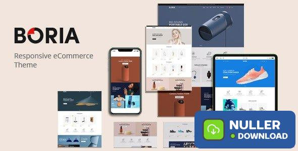 Boria v1.0.0 - Multipurpose WooCommerce WordPress Theme