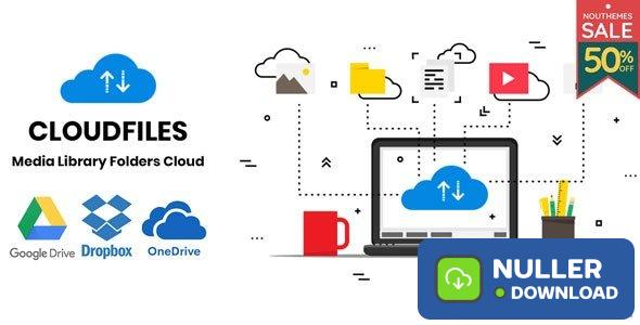 Cloudfiles v1.0.2 – WordPress Media Library Folders Cloud