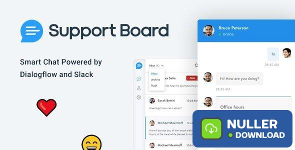 Support Board v3.0.8 - PHP Chat Plugin