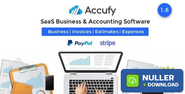 Accufy v1.6 - SaaS Business & Accounting Software - nulled