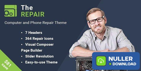 The Repair v2.9.1 - Computer and Electronic WordPress Theme