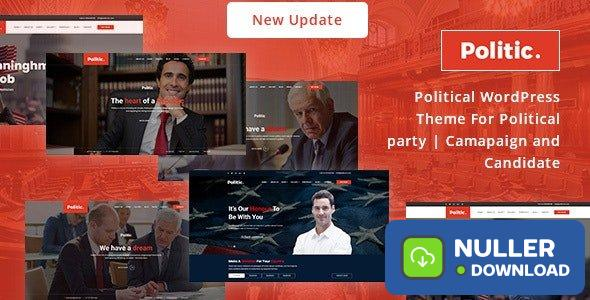 Politic v3.2.3 - Political WordPress Theme