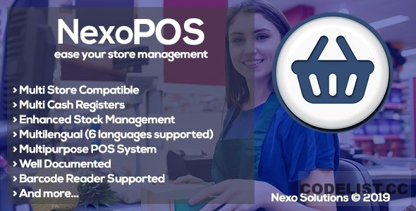 NexoPOS 3.15.41 - Extendable PHP Point of Sale - nulled