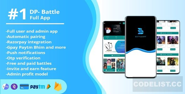 BattleApp v1.0 – world's first DP battle app