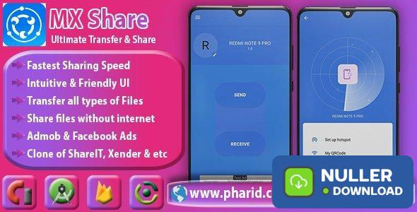 MXShare v1.0 - MXShare Clone | Ultimate Transfer & Share