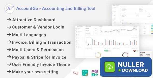 AccountGo v2.1- Accounting and Billing Tool