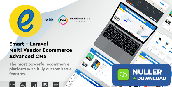 emart v1.3 - Laravel Multi-Vendor Ecommerce Advanced CMS - nulled