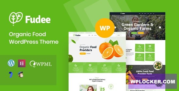 Fudee v1.0 - Organic Food WordPress Theme