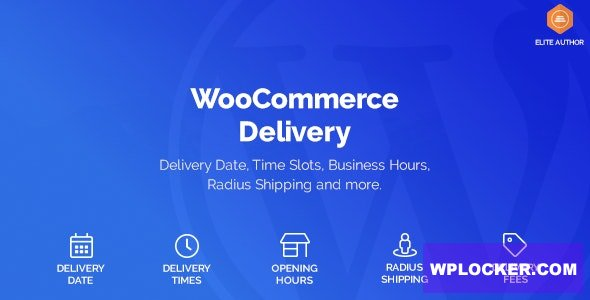 WooCommerce Delivery v1.0.21 - Delivery Date & Time Slots